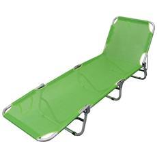 Brandina Pieghevole A Roma.Brandina Pieghevole Lettino Sdraio Textilene Verde Lime Per Campeggio Spiaggia Mare Piscina Giardino