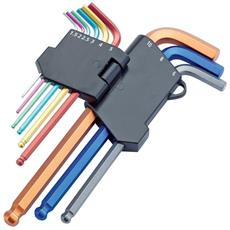 Set chiavi esagonali con testina rotante sistema metrico Draper 08380 9 pezzi