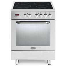 DE LONGHI - Cucina Elettrica DEMX 664 IN 4 Zone Cottura Induzione ...