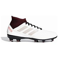 Scarpe Calcio Donna Adidas Predator 18.3 Fg Taglia 37 1/3 - Colore: Grigio  / marrone
