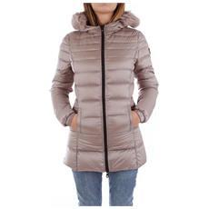 Giubbino Piumino Donna Refrigiwear Long Mead Fur Jacket W98101 Original Ai 44 Taglia 44 Colore Beige