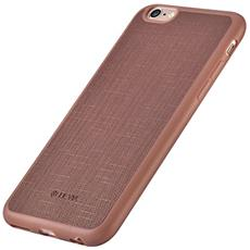 DEVIA Cover Jelly slim in Pelle per iPhone 6S/6 Plus Rosso Porpora