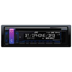 JVC KD-X451DBT Autoradio digitale Bluetooth AUX frontale DAB e ingresso USB