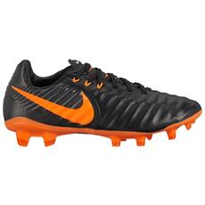 Nike Scarpe Calcio Bambino Tiempo Legend Fg Nero Arancio 36