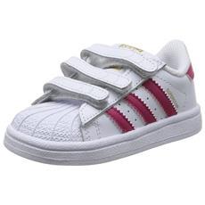 Adidas Superstar Foundation Cf I Scarpe Bambina Bianche