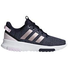 watch f28e2 57985 adidas - Cf Race Trk Sneakers Kid Scarpe Da Ginnastica Bambina Blu 33 -  ePRICE
