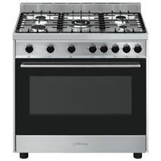 Cucina a Gas B90GMXI9 5 Fuochi Forno Elettrico Dimensioni 90 x 60 cm
