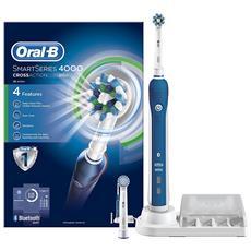 Oral b Smart Serie 4000 Parti Croce Spazzolino Elettrico Ricaricabile Powered By Braun Fornito Con Una Spina 2 Spina Uk