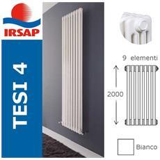 Irsap - Radiatore Tesi, 4 Colonne, Bianco - 200 Cm 7 Elementi A ...