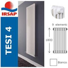 IRSAP - Radiatore Tesi, Batteria 1800/4, 9 Elementi, Bianco - ePRICE