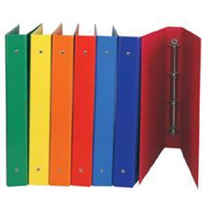 colori assortiti Raccoglitore ad anelli formato A4 Rexel Ice 10 pz Confezione da 10 Colori assortiti