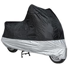Telo Copri Moto Scooter Protezione Anti Polvere Copertura da Interno Grigio XL