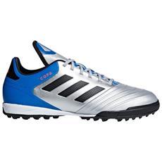 Scarpe Calcetto Adidas Copa Tango 18.3 Tf Team Mode Pack Taglia 42 Colore: Bianco blu