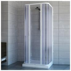 Acquario con Apertura Centrale Box Doccia 70x90 in PVC MOD