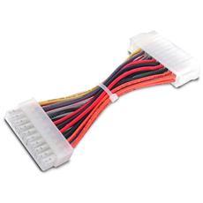 COMeap Da 24 pin a 6 pin PSU ATX Energia Adattatore Cavo per scheda madre Dell con porta a 6 pin da 13,3 pollici 34 cm