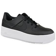 Air Force 1 Sage Low Ar5339 002, Donna, Nero, Sneakers, Numero: 40,5 Eu