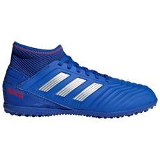 Scarpe Calcetto Ragazzo Adidas Predator 19.3 Tf Exhibit Pack Taglia: 38 Colore: Blu Giallo