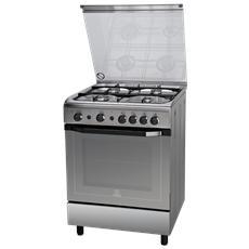 INDESIT - Cucina a Gas I6GG1F (X) / I 4 Fuochi Forno a Gas ...