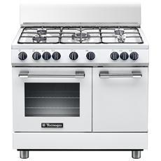 TECNOGAS - Cucina Elettrica PB965MW 5 Fuochi a Gas Forno Elettrico ...
