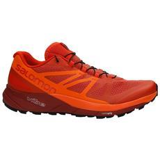 Scarpe Uomo Trail Running Sense Ride A5 Taglia: 46 Colore: Rosso Arancio