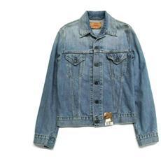 Giubbino Giubbotto Jeans Uomo Levi's Original Red Tab 70500.04 59 Cotone Pe New Taglia M Colore Blu