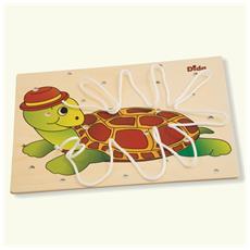 Allacciatura Tartaruga Il Gioco Dei Lacci Per Sviluppare La Manualità Dei Bambini Attività Montessori