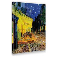 Quadro Vincent Van Gogh Stampa su Tela Canvas Poppy Field 50 X 70 Cm
