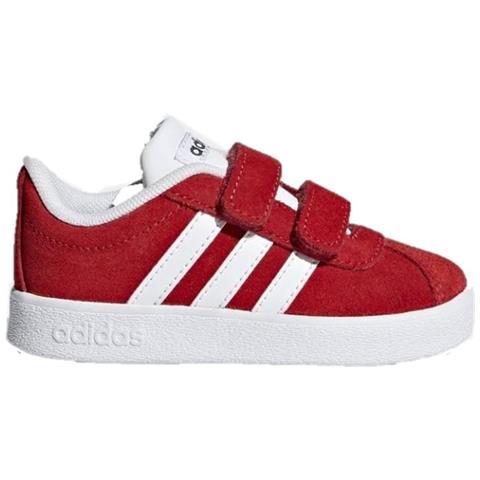 Vl Court 2.0 Cmf I Sneakers Scarpe Rosso Camoscio Rosso 21