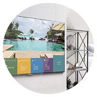 Soluzioni multmediali per hotel