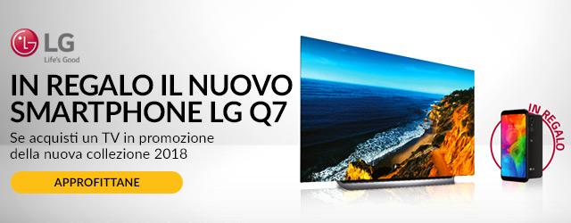 In regalo il nuovo LG Q7