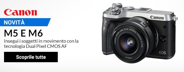 Canon M5 e M6