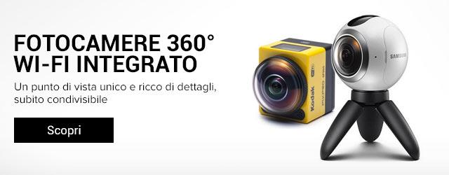 Videocamere 360°