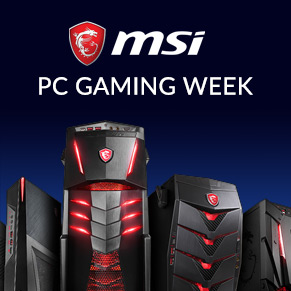 MSI PC Desktop Gaming Week