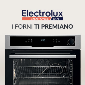 Forni Electrolux Steam Days