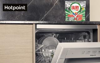 Ricevi in regalo<br>Hotpoint Fairy Platinum