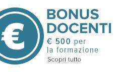 Bonus Docenti
