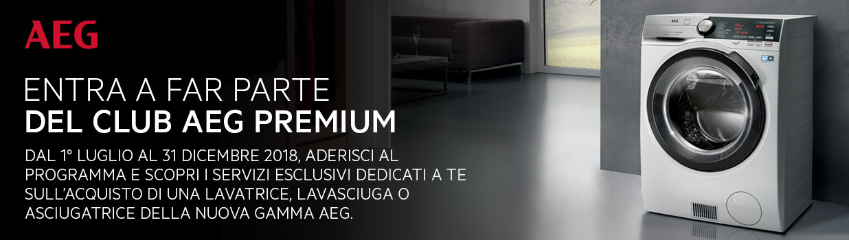 Entra a far parte del Club AEG Premium