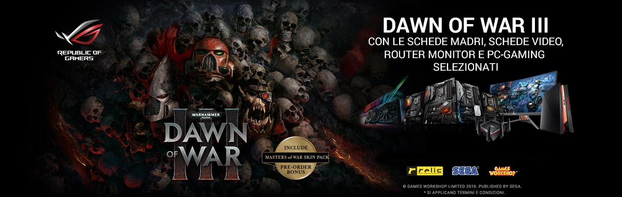 Asus Dawn of War III