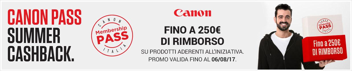 Canon Pass Summer Cashback