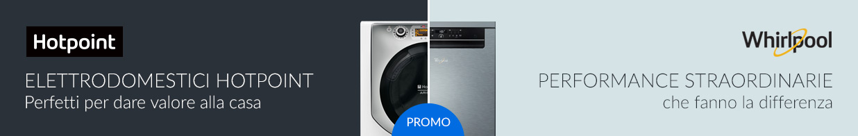 Promozione Hotpoint Whirlpool