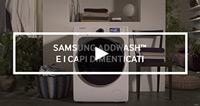 Samsung AddWash: capi dimenticati