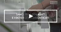 Samsung AddWash: detergenti dimenticati