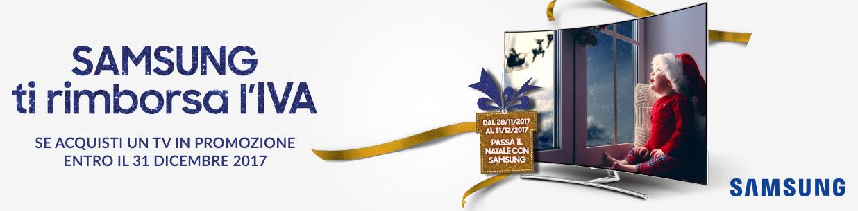 Samsung ti rimborsa l'IVA