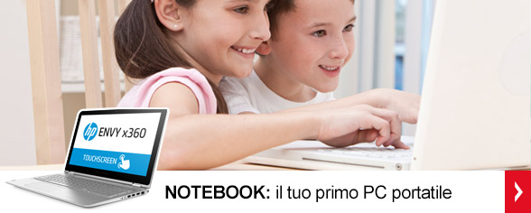 <strong>Notebook</strong> <br/>Il tuo primo PC portatile