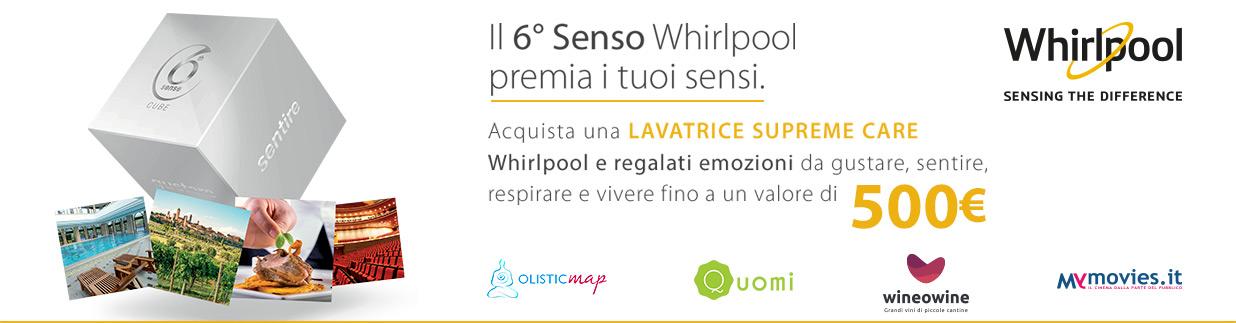 Whirlpool Promozione Supreme Care