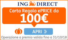 Ing Direct è partner ePRICE