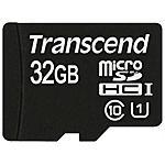 TRANSCEND - MicroSDHC Class 10 UHS-I da 32 GB