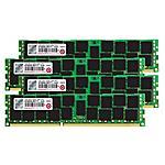 TRANSCEND - Memoria Dimm JetMemory 64GB (4 x16GB) DDR3 1866MHz...