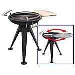 HOMEGARDEN - Barbecue a carbone o legna con struttura in...