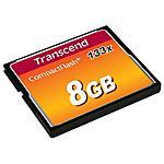 TRANSCEND - Compact Flash 8GB 133X